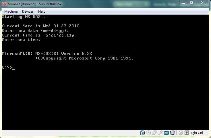 ms dos 6.22 iso